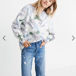Madewell Rivet and Thread Oversized Sweatshirt L